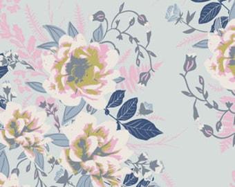 Baby Bedding Crib Bedding - Vintage Pink, Blue, Floral - Flower Blanket - Girl Crib Bedding - Floral Crib Sheet - Flower Baby Bedding