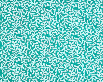 Turquoise Coral Fitted Crib Sheet // Nautical Crib Sheet // Baby Shower Gift // Baby Gift