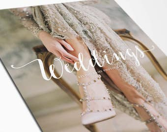 Wedding Photographer Marketing Template - Wedding Photography Welcome Guide Template - BLISS - 1494