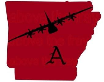 C-130J Arkansas Razorback Digital download file