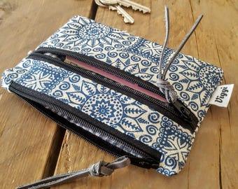 Boho Wallet for Women and Men, Elegant Money Clip, Mandala Wallet, Bohemian Money Pouch