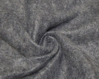 Deep Heather Gray Acrylic Craft Felt Fabric By the Yard Style 3009