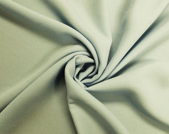 """Mint Bubble Satin 59"""" Fabric by the Yard - Style 701"""