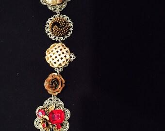 Gypsy Boho bracelet gold