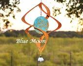 Blue Moon Wind Spinner | BreezeWay Arts