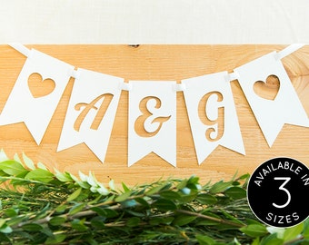 Wedding Banner, Custom Banner, Wedding Signs, Personalized Banner, Bridal Shower Banner, Rustic Wedding, Wedding Decoration