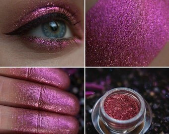 Eyeshadow: Drawing Dragons  Constellation - Dragonblood. Beet mica-prismatic eyeshadow by SIGIL inspired.