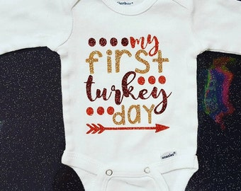 My 1st Turkey Day Onesie