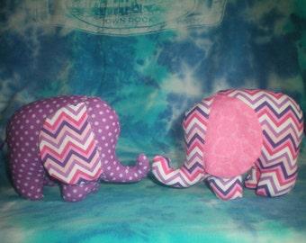 "soft 4.5"" toy elephant - many colors!"