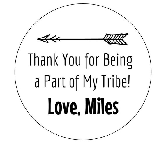12 arrow tribe stickers tribal stickers envelope stickers it s a