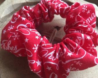 Christmas scrunchie