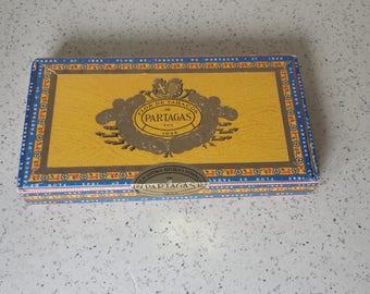 Partagas Wooden Cigar Box Humidor