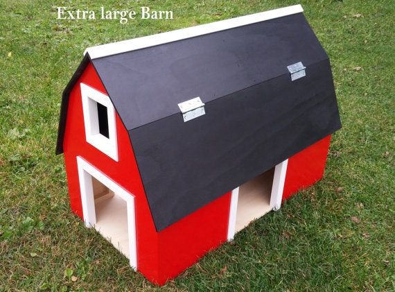Extra Large Wooden Barn