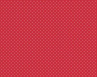 Swiss Dots - C670-80 Red