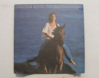 "Carole King - ""Thoroughbred"" vinyl record"