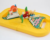 Vintage Tomy BringAlongATrain toy in carry case 1980s