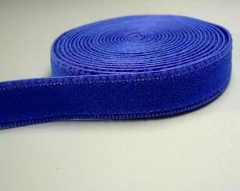 Bra & Knicker Making Band Elastic. Purple Plain Band. Plush back. 10 mm wide