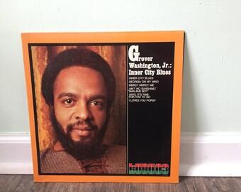 "Grover Washington Jr. ""Inner City Blues"" vinyl record"