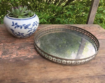 Beautiful Vintage Silver Tray