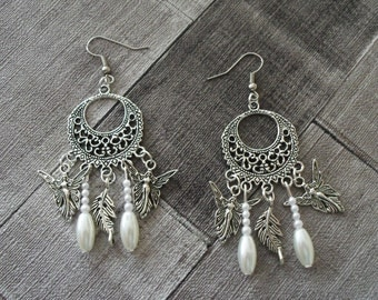 earring charms and fairy