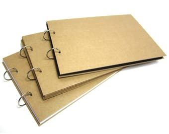 A3/A4/A5 Refillable Binding Ring Scrapbook, Photo Album, Guest Book, Display