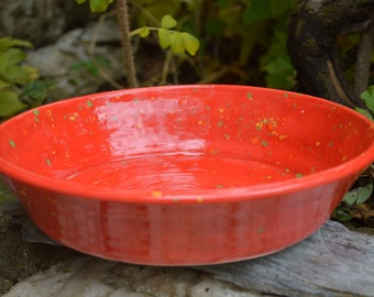 READY TO SHIP! Deep Dish Pie Plate or Pasta Bowl