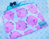 Piggy zipper pouch- Large