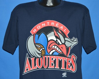 90s Montreal Alouettes CFL t-shirt Large