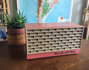 Rare Vintage 1950s-60s Pink Stromberg Carlson Tube Radio - Display or Repair