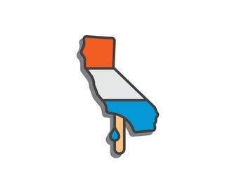 California Popsicle - Enamel Pin