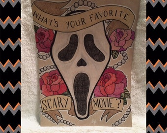 Scream GHOSTFACE Art
