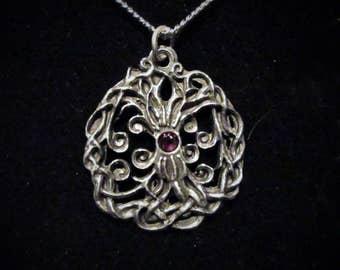 Handmade Yggdrasil pendant, viking tree of life, The Fantasyggdrasil