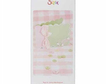 Sizzix Bigz Die, Sizzix Scallop Card Die, Bigz XL Die, Scrapbook Supplies, Sizzix Big Shot Die, Card Making Die Cut, Sizzix 655419