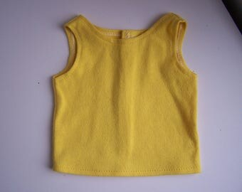 Yellow Tank Top - Fits 18 inch Boy and Girl dolls
