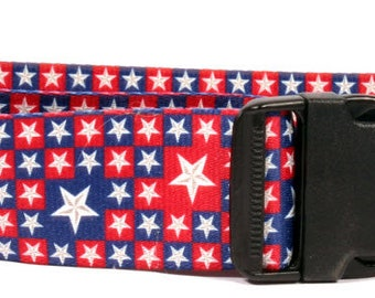 Colonial Stars 2 inch wide collar