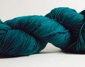 Fathom -- Dyed to Order -- Hand dyed yarn -- Skipper Sock -- Tidal Twinkle -- Windswept Worsted -- Sparkle -- DK