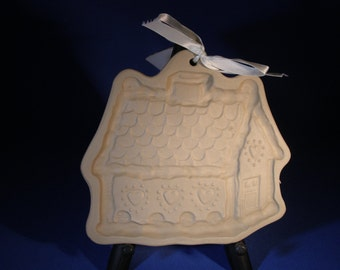Brown Bag Cookie Art Gingerbread House Cookie Mold With Original Recipe Book