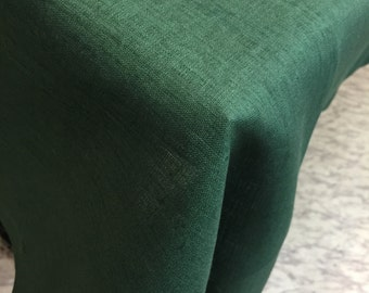 Tablecloth Linen Green Big Size Table Cloth 97 inches