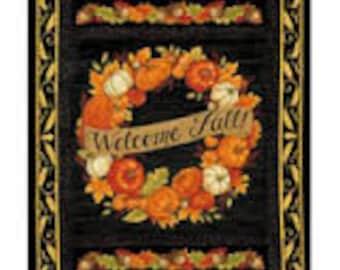 Welcome Fall Panel Deb Strain Moda Fabric Fall/Autumn Fabric