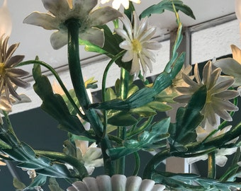 Daisy metal chandelier
