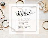 Set of 5 Styled Stock Pho...