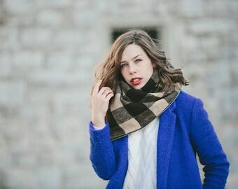The Zipper Scarf™, Multi wear scarf, wrap, infinity, cowl