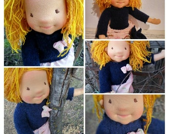 Waldorf Doll, Waldorf inspired doll