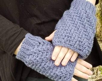 Polar Vortex Fingerless Gloves