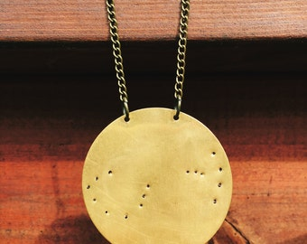 Large Custom Constellation Necklace