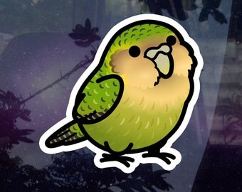 "Chubby Kakapo 3.5"" Sticker [Outdoor Quality] Charity Listing"