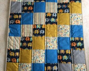 """Newborn Handmade Quilt (27"""" x 32"""")"""