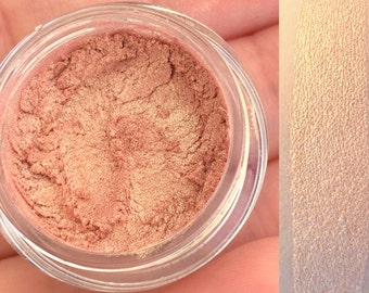 PEACH ROSE- Mineral Eyeshadow and Eyeliner- All Natural, Vegan Friendly