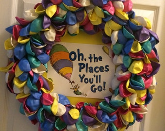 Giant Oh The Places You Ll Go Sign