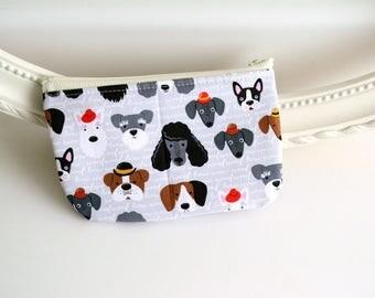 DOG DAYS - Novelty Pouch - Crayon bag - Crayon Pouch - Crayon Carrier - Marker Holder - Pencil Case - zipper pouch